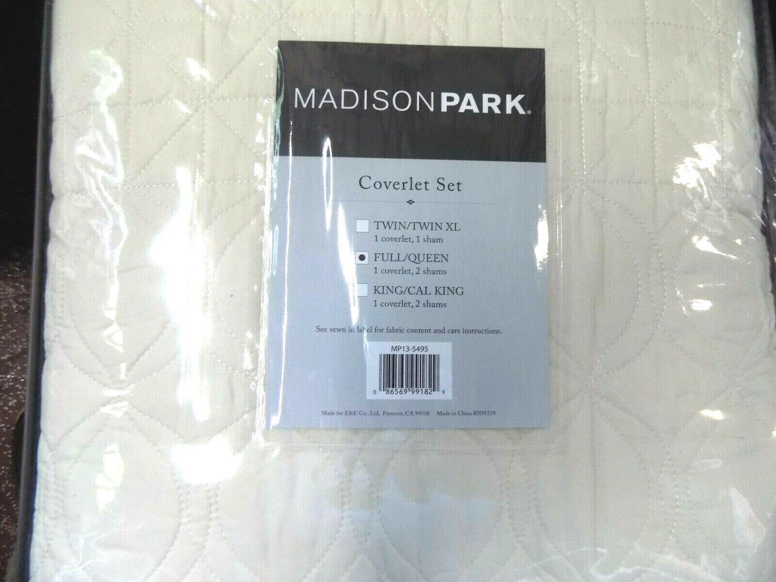 Madison Park Tuscany 3 Piece Coverlet Set