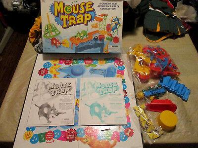 Milton Bradley 1999 Mouse Trap Board Game 100% Complete all ORIGINAL NICE BOX](Mouse Trap Board Game)