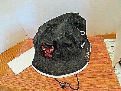 NEW Chicago Bulls Bucket Hat Cap Adult Extra Large Black NBA Basketball Fishing