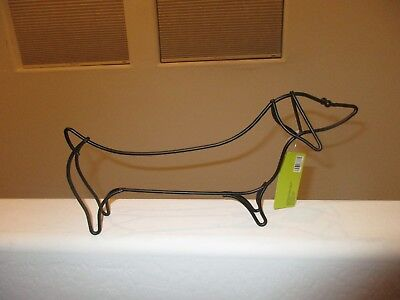 "Metal Dachshund Sausage Dog - 13.39"" Long - Brand New with Tags for sale  Phoenix"