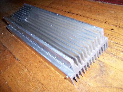 Large Long Extruded 2-sided Aluminum Heatsink 12.5 X 4.5 X 2.5 32x11x6.5cm