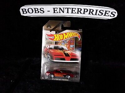Hotwheels Garage 80's Pontiac Firebird ec-618