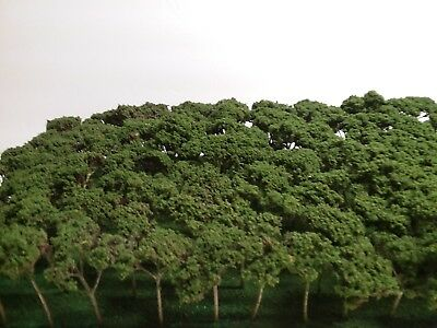 100 NEW N  HO SCALE O AND S GAUGE TREES FOR TRAIN LAYOUT DIORAMA WAR FOREST for sale  Roanoke