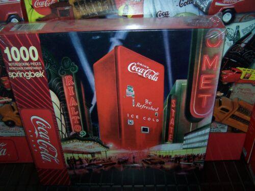 "Springbok COCA COLA Jigsaw Puzzle  Hallmark ""MOVIE NIGHT"" NEW IN BOX 1000 PIECES"