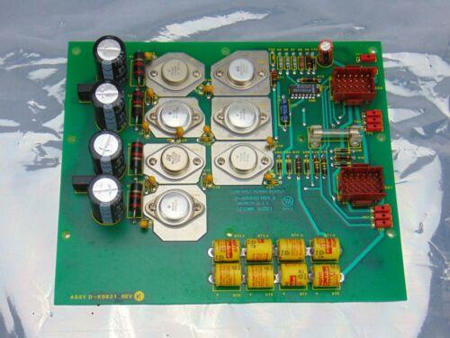 Varian Assy D-K9831 Rev K Low Voltage Power Supply D-K9830 Rev E *used working
