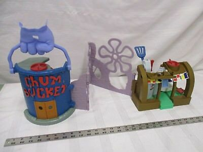 Fisher price sponge bob square pants Chum bucket restaurant building play set