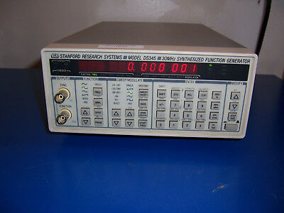 10045 Srs Stanford Research Systems Ds345 30 Mhz Synthesized Function Generator
