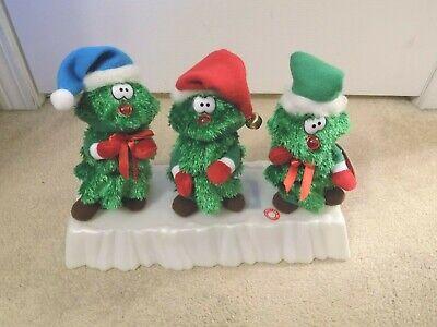 Musical Animated Dancing Christmas Tree Trio-FREE SHIPPING! Animated Musical Christmas Tree