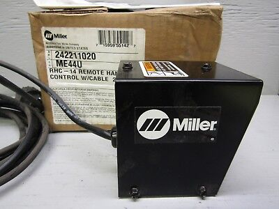 Miller 242211020 Rhc-14 Remote Hand Control W 20 Cable