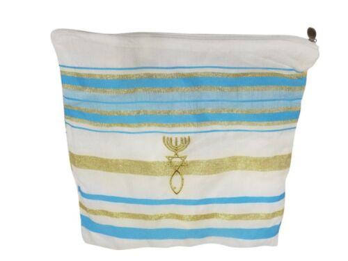 Light Blue New Covenant Prayer Shawl Messianic Tallit Tallis Jewish Christian
