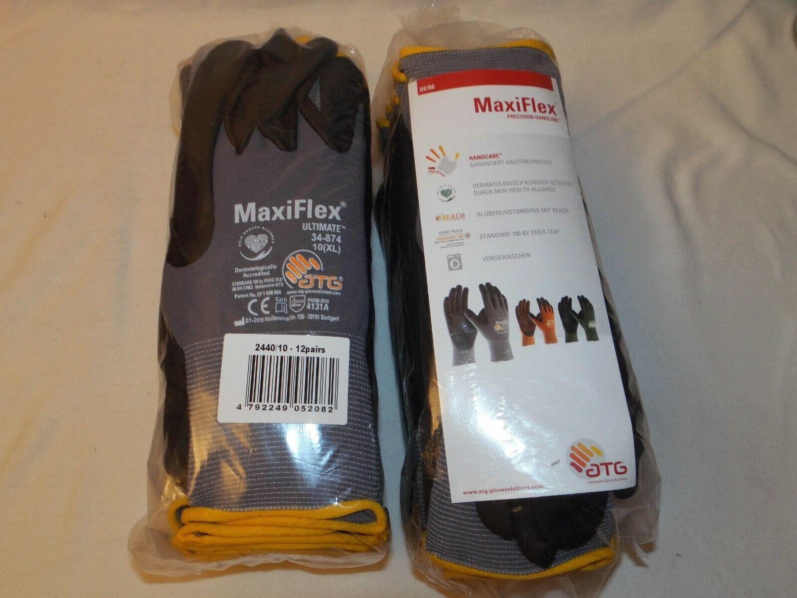Maxiflex Handschuhe 2x12 Paar Gr.10 Neu