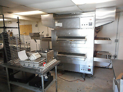 Complete Pizza Shop With Middleby Marshall Double Gas Conveyor Oven  Ps 360  40