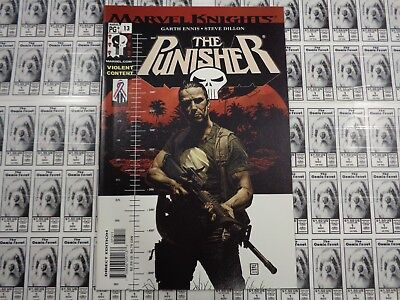 The Punisher (2000) Marvel - #13, Frank Castle, vs Mafia Don, Ennis/Dillion, NM-