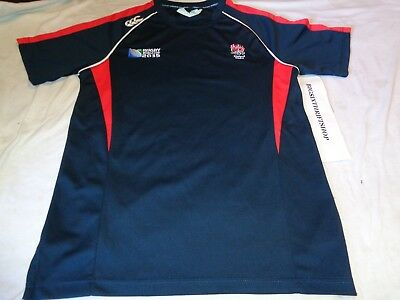 Rugby World Cup 2015 IRB Canterbury Shirt Size Small England Adult 84ccf609da