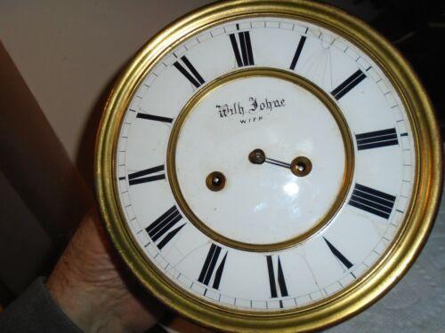 Antique-2 Weight-Vienna Regulator Clock Movement-Ca.1875-To Restore-#E145