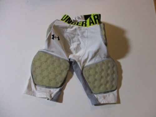 UNDER ARMOUR PADDED FITTED ATHLETIC JOCK SHORTS / UNDERWEAR-YOUTH LG FOOTBALL