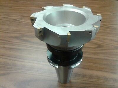 6 90 Degree Indexable Face Shell Mill Milling Cutter Cat50 Apkt Z-2526-6080