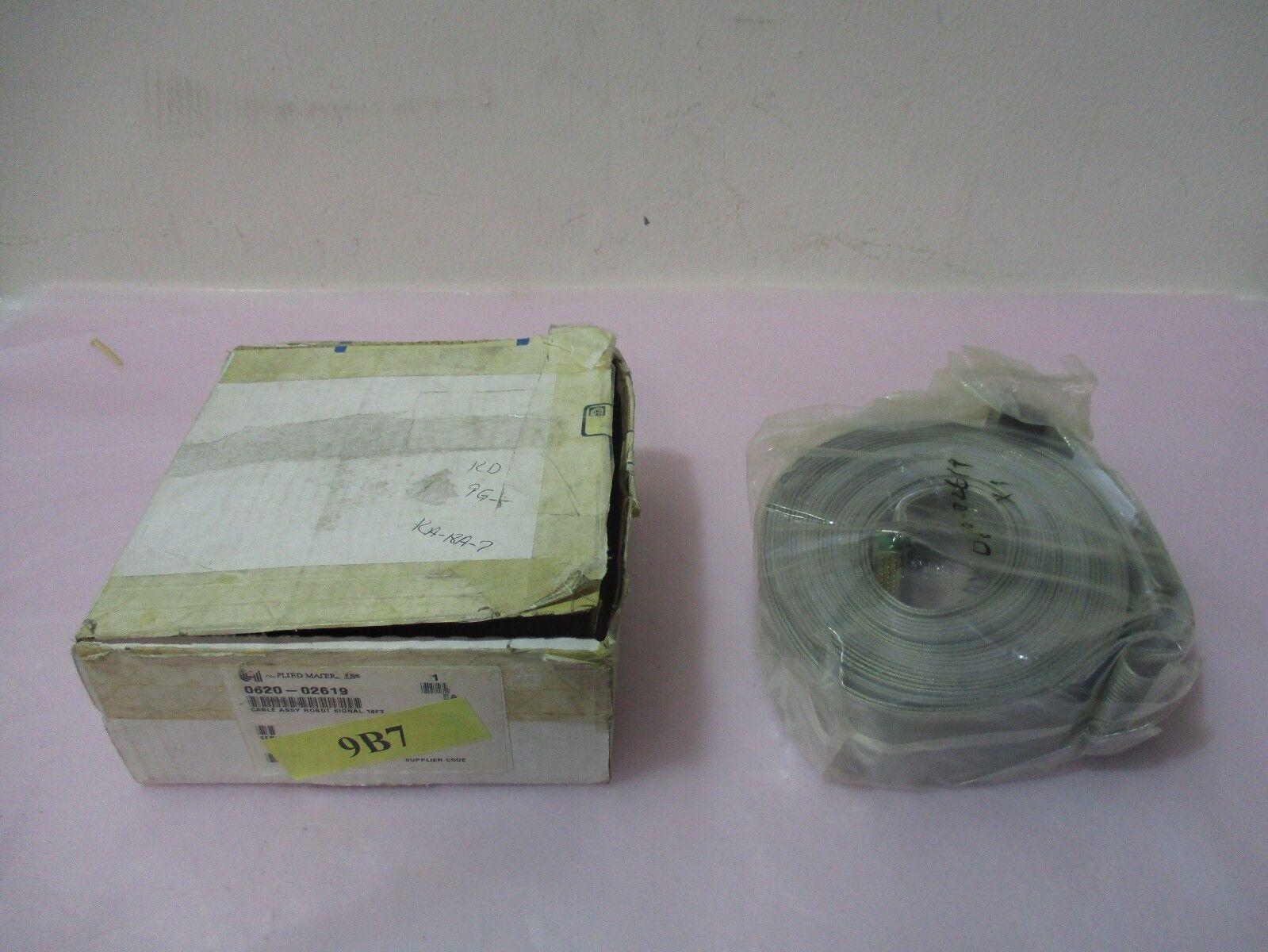 AMAT 0620-02619, 760J100-6, Cable Assembly, Robot Signal 18FT. 417894