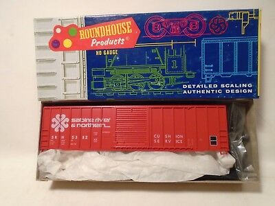 Roundhouse Products Ho Scale  1958 Sabine River 50 Fmc Box Car Kit New
