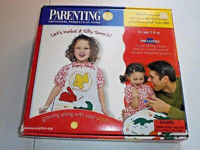 Parenting Art Smock Preschool Projects at Home Crafts Kit  (Preschool Projects)