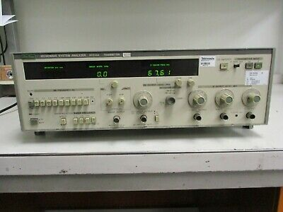 Anritsu Electric Co. Microwave System Analyzer Me538a Transmitter Opt. 234