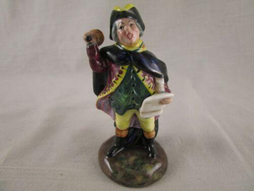 """Royal Doulton Figurine HN 3261 The Town Crier 4"""" high"""