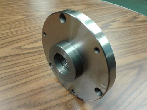"1-1/2""-8 thread adapter Plate for 6"" self centering  LATHE CHUCKS  #ADP-06-1128"