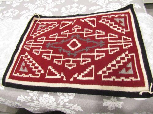 original navajo wool saddle blanket