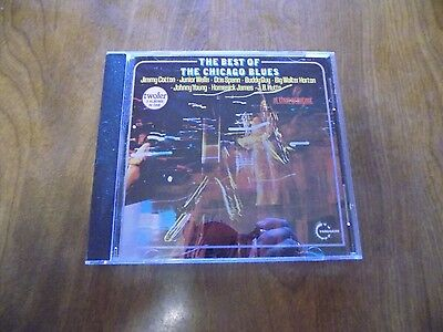 THE BEST OF THE CHICAGO BLUES Various Artists (CD, 1987, Vanguard) 2 Albums in