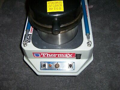 Heated Carpet Cleaner Cp-3 Thermax Extractor  Rental Set Up