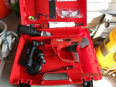 Hilti Dx 460 Powder Actuated Tool Kit With Mx 72 X-460-f8 Brand New.962
