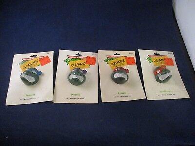 Ninja Clothing (Teenage Mutant Ninja Turtles TMNT Clothing Buttons Set of 4 Leonardo Don)