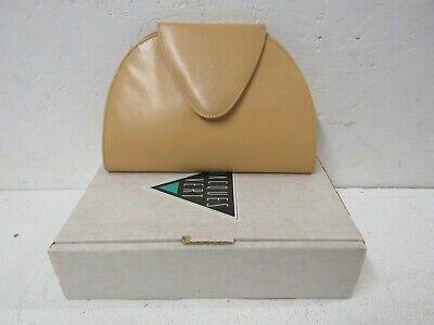 JACQUES VERT Leather Clutch Bag - Orange