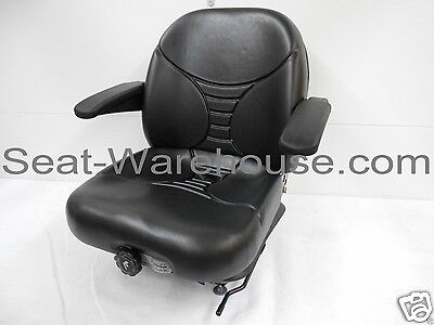 Michigan Seat, Black Highback Suspension Seat V5300 15980  #HE
