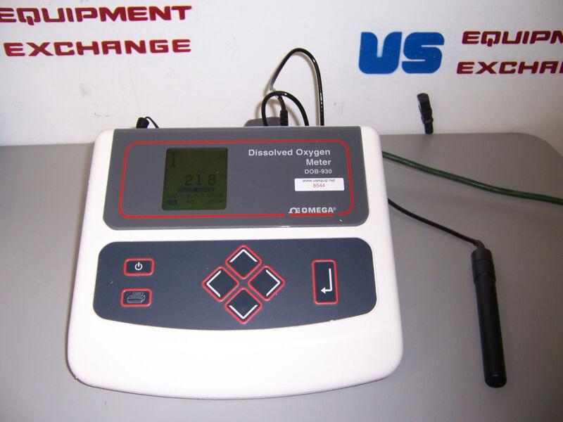 8544 OMEGA 9300 SERIES DOB-930 DISSOLVED OXYGEN METER W/ PROBE