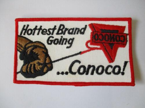 vintage 1950 1960 Conoco USA MADE Gas Oil Advertisement Uniform Patch