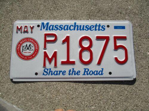 Massachusetts Share the Road license plate # 1875