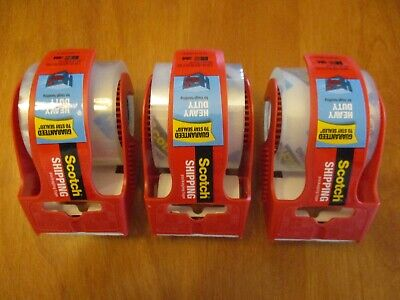 3m Scotch Heavy Duty Shipping Packaging Tape 1.88 In X 800 In 3 Rolls