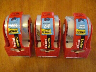 3m Scotch Heavy Duty Shipping Packaging Tape 1.88 In X 800 In 3 Rolls