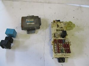 eclipse fuse box car truck parts 1990 1994 mitsubishi eclipse under dash fuse box relays
