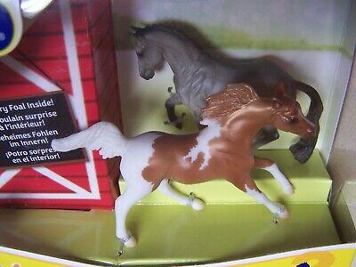 Breyer Stablemates Mystery Foal Surprise Grey Valegro and Chestnut Arabian - NIB