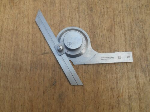 "BROWN & SHARPE No.493 Bevel Protractor, 6"" blade, USA"
