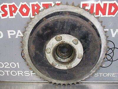 1969 TRIUMPH TROPHY 250 TR25W REAR BRAKE DRUM SPROCKET HUB 40 6090
