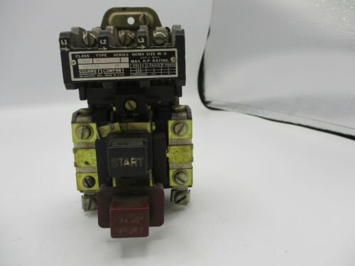 SQUARE D 2510-BG2 MANUAL STARTER SIZE M-0
