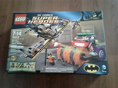LEGO DC Super Heroes 76013 The Joker Steam Roller New and Sealed