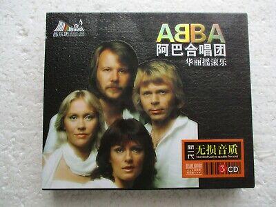 ABBA  - Very best of Abba  - Hong Kong only edition 3 CD BOX SET + Insert / New