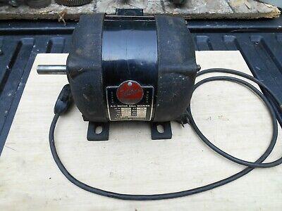 Atlas Lathe Motor No. 2715 14 Hp 115v 3450 Rpm Runs Good