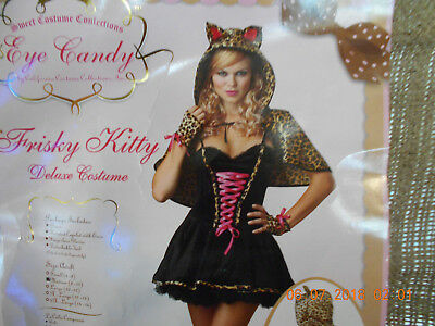 Frisky Kitty Halloween Costume - Eye Candy - Adult Medium