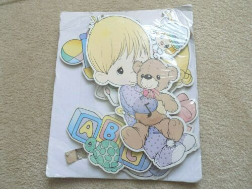 Precious Moments Wooden Nursery Musical Wall Art Factory Sealed-FREE SHIPPING!