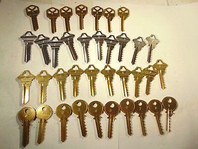 4 - Sets Kwikset Kw1 Y1 Schlage Sc1 And Sc4 Depth Keys 0-9  Locksmith